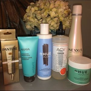 Hair Product Bundle— Ahava, Nexxus, DP Hue